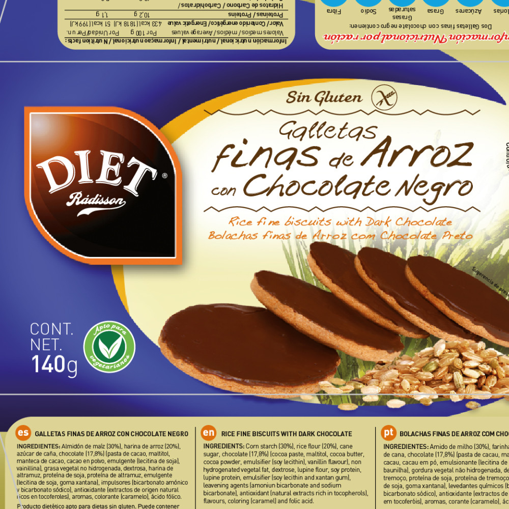 Diet de Radisson  ::  mantenimiento de packaging